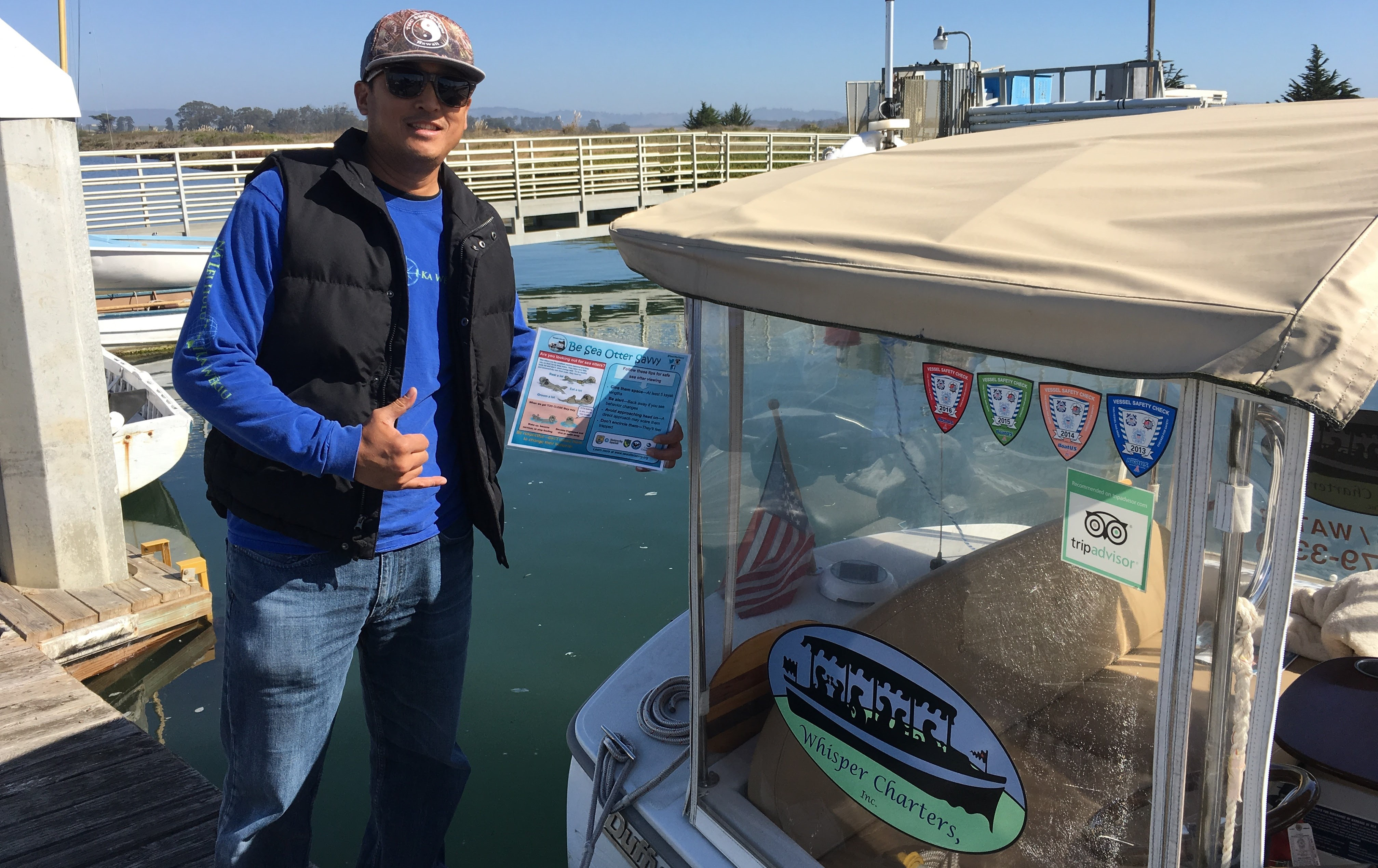 Certified! Whisper Charters